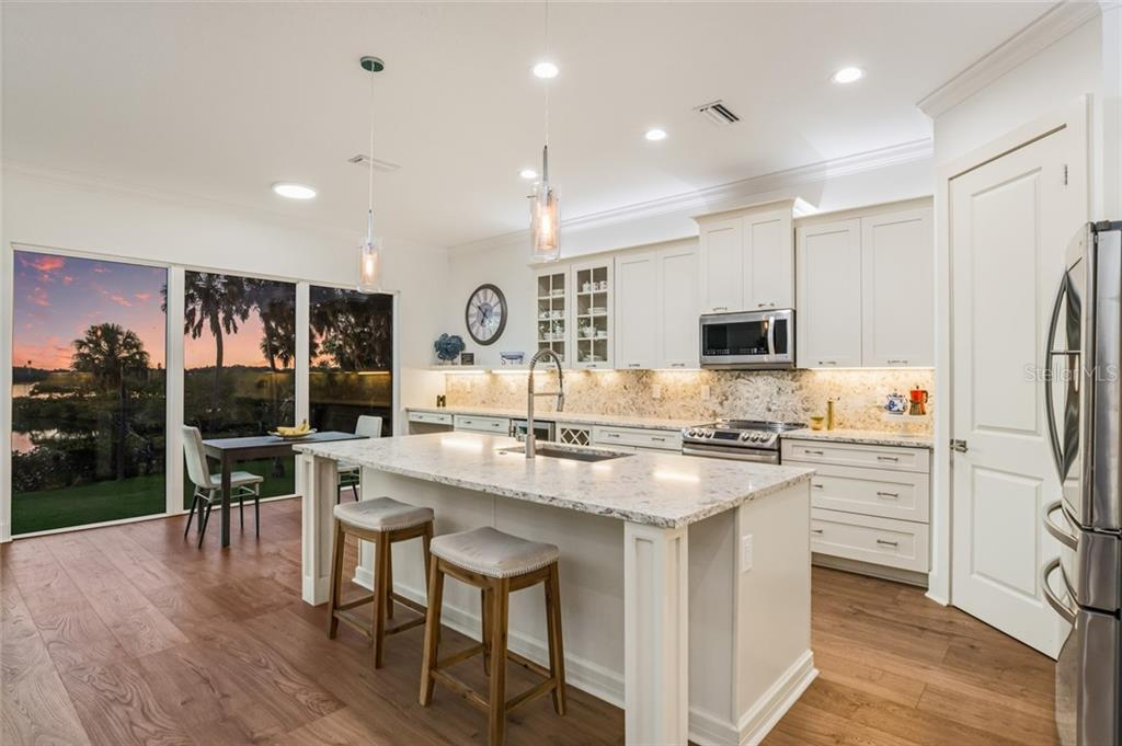 Fabulous open kitchen with amazing views. - Single Family Home for sale at 6125 1st Ter E, Palmetto, FL 34221 - MLS Number is A4455618