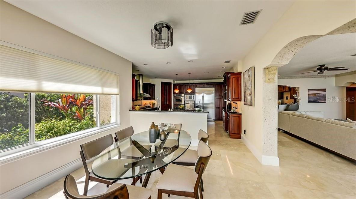 Salt Water Heated Infinity Edge Pool - Single Family Home for sale at 5372 Sandhamn Pl, Longboat Key, FL 34228 - MLS Number is A4458496