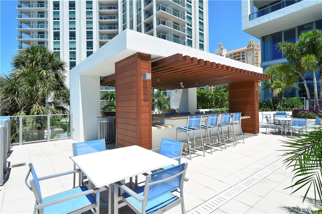 POOL CABANA - Condo for sale at 1155 N Gulfstream Ave #507, Sarasota, FL 34236 - MLS Number is A4458926