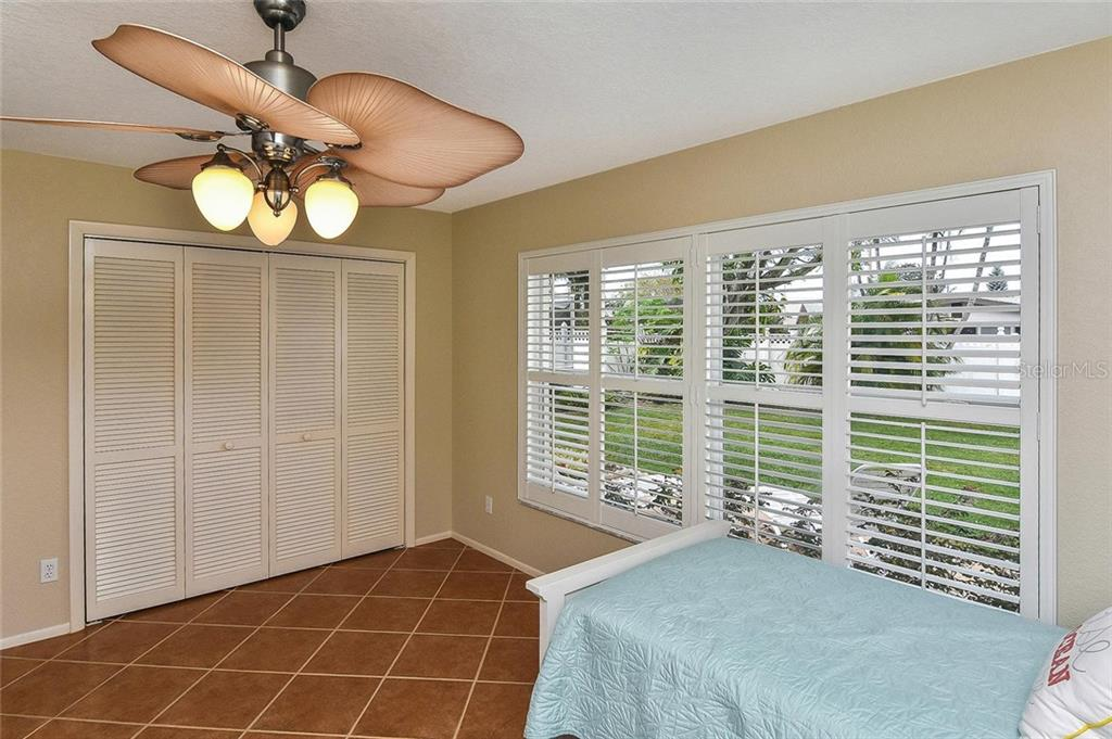 Bedroom 2 - Single Family Home for sale at 1758 Croton Dr, Venice, FL 34293 - MLS Number is A4459877