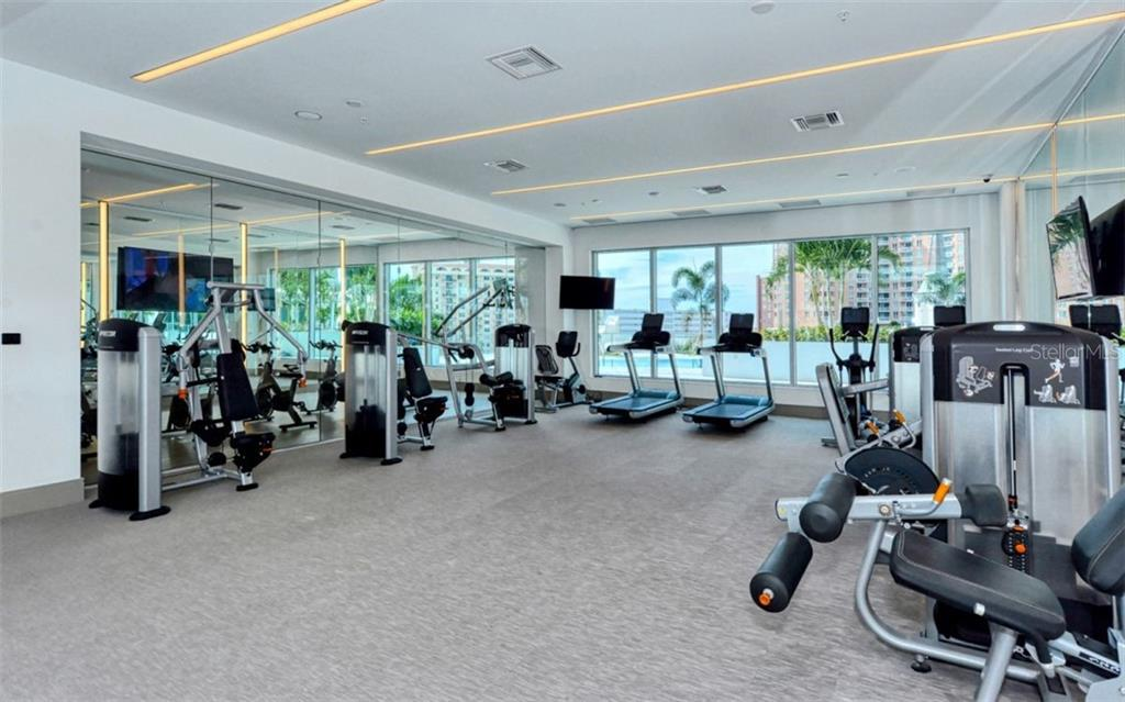 The Mark - Fitness center - Condo for sale at 111 S Pineapple Ave #1117 L-1, Sarasota, FL 34236 - MLS Number is A4461778