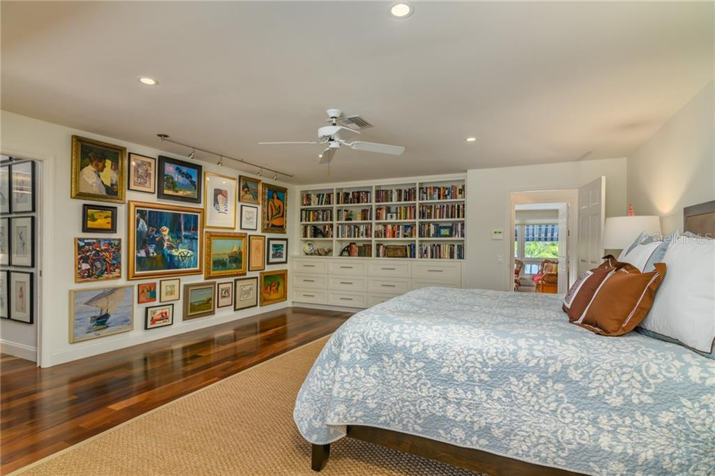 Master Suite on Gulf Side - Single Family Home for sale at 7340 Point Of Rocks Rd, Sarasota, FL 34242 - MLS Number is A4461841