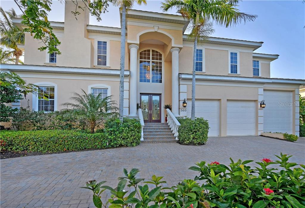 MLS DISCLOSURES - Single Family Home for sale at 560 Hornblower Ln, Longboat Key, FL 34228 - MLS Number is A4462103