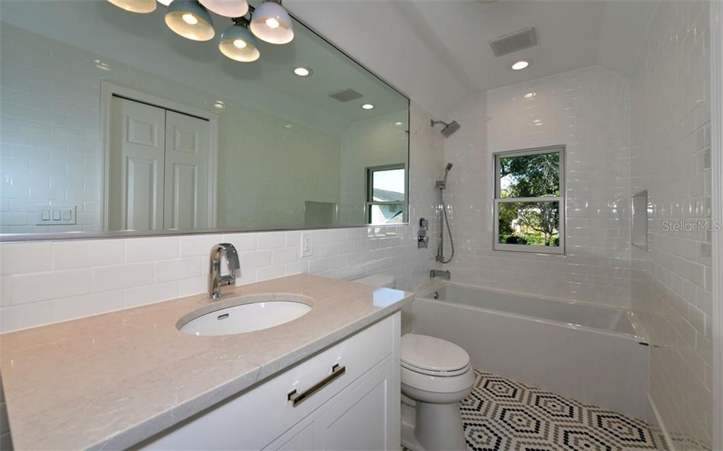 Second Floor Bathroom - Single Family Home for sale at 4700 Riverview Blvd, Bradenton, FL 34209 - MLS Number is A4462708