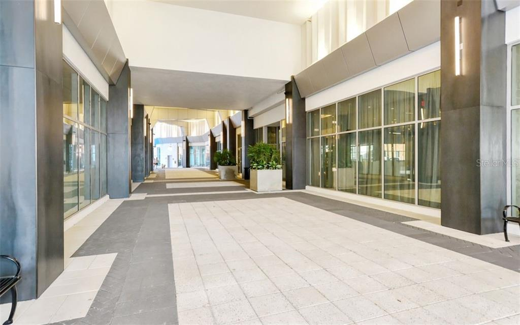 Mark Sarasota Promenade/Entrance - Condo for sale at 111 S Pineapple Ave #610, Sarasota, FL 34236 - MLS Number is A4463717