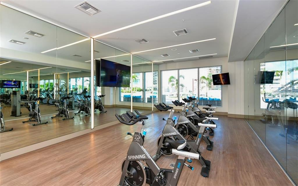 State-Of-The-Art Fitness Center - Condo for sale at 111 S Pineapple Ave #610, Sarasota, FL 34236 - MLS Number is A4463717