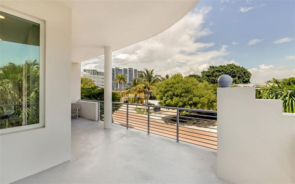 The bedrooms and great room all flow seamlessly onto expansive terraces. - Condo for sale at 609 Golden Gate Pt #201, Sarasota, FL 34236 - MLS Number is A4468917
