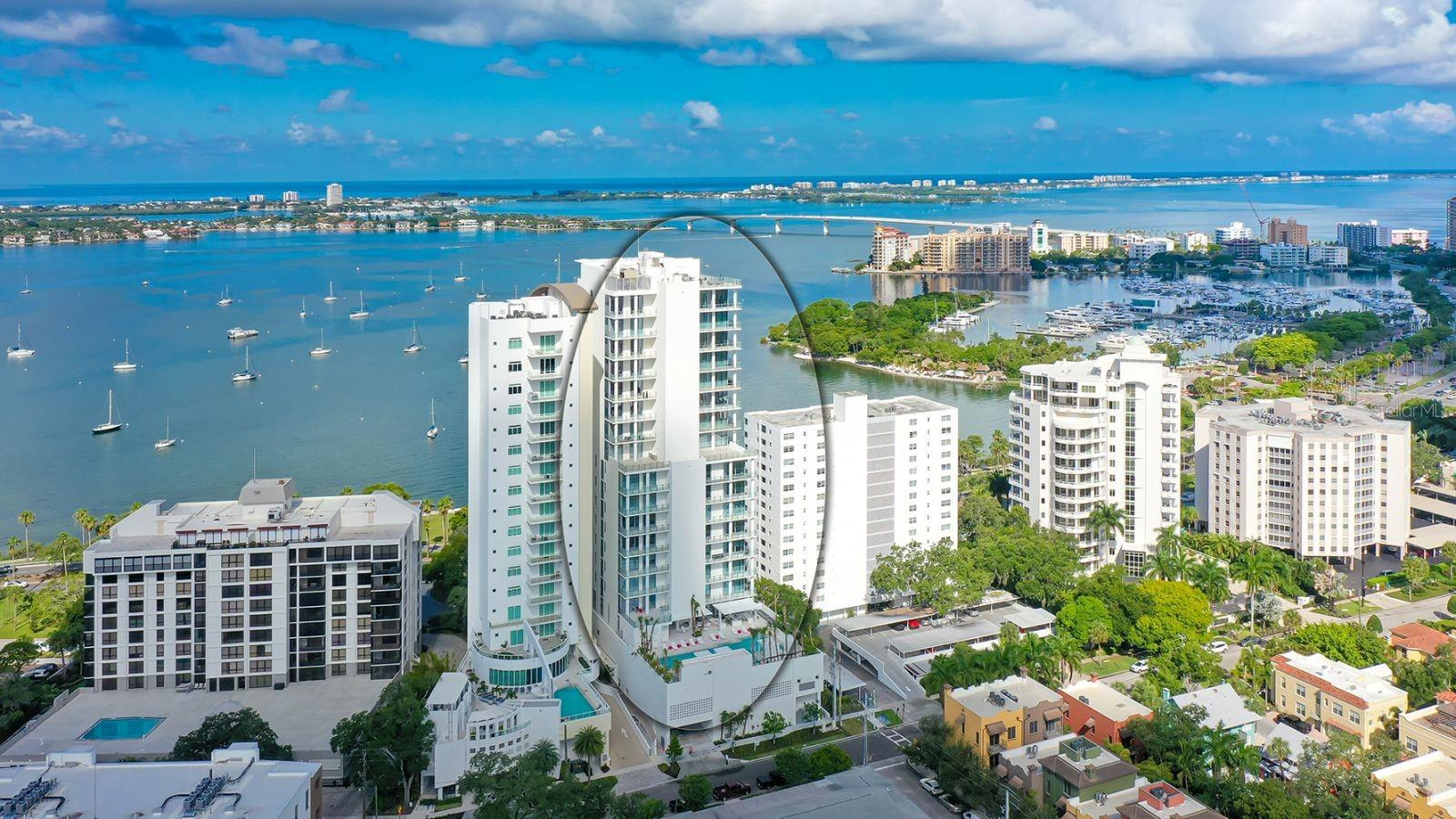 Condo for sale at 605 S Gulfstream Ave #3w, Sarasota, FL 34236 - MLS Number is A4470704