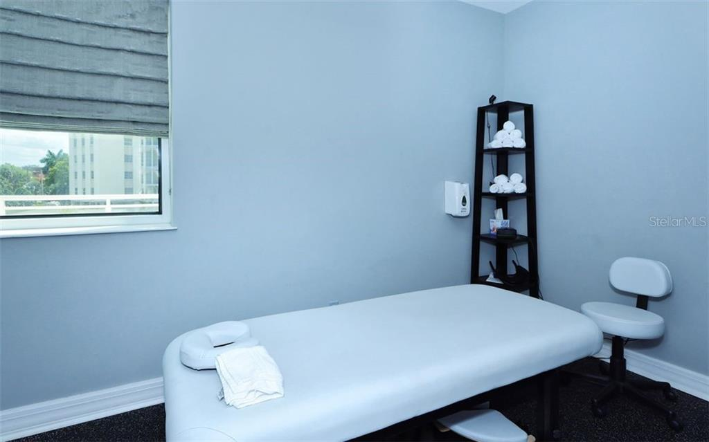 Sarabande Massage Room - Condo for sale at 340 S Palm Ave #Pl1, Sarasota, FL 34236 - MLS Number is A4471687