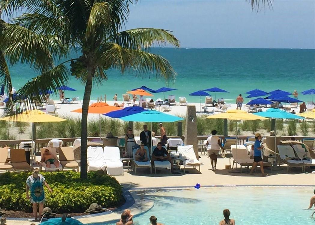 Ritz Carlton lobby area - Condo for sale at 1300 Benjamin Franklin Dr #708, Sarasota, FL 34236 - MLS Number is A4471978