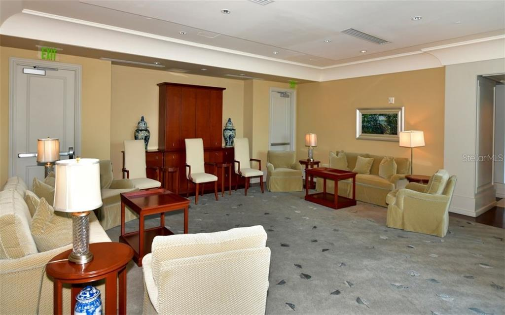Common room - Condo for sale at 1350 Main St #701, Sarasota, FL 34236 - MLS Number is A4472236