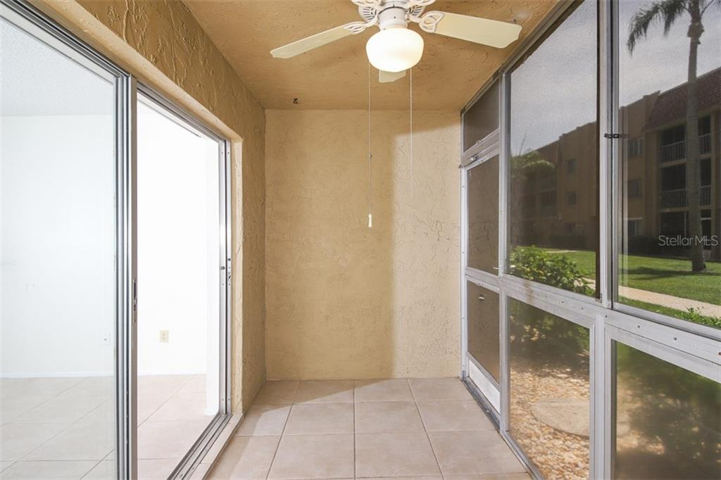 Lanai faces south. Screened and vinyl windows. - Condo for sale at 1330 Glen Oaks Dr E #171d, Sarasota, FL 34232 - MLS Number is A4473999