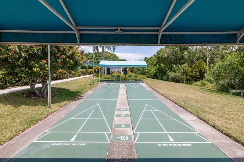 Shuffleboard court. - Condo for sale at 977 Sandpiper Cir #977, Bradenton, FL 34209 - MLS Number is A4474554