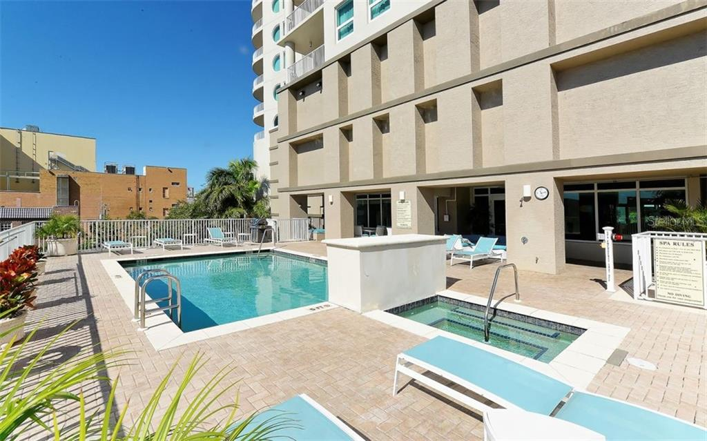 Spa - Condo for sale at 1771 Ringling Blvd #1110, Sarasota, FL 34236 - MLS Number is A4474683