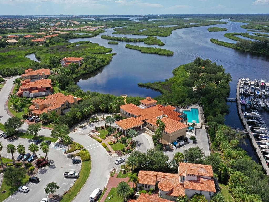 The River Club @ Waterlefe with Marina Club set on the Southern Shore of the Manatee River - Single Family Home for sale at 9456 Portside Ter, Bradenton, FL 34212 - MLS Number is A4478253