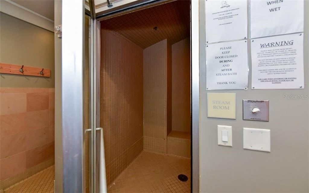 Steam room - Condo for sale at 1350 Main St #1601, Sarasota, FL 34236 - MLS Number is A4478753