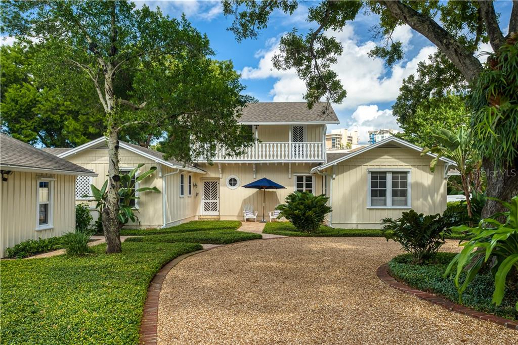 Built in 1937 and Impeccably Maintained Over the Years--The current owners are just the third owners in the home's 83 year history. - Single Family Home for sale at 1595 Bay Point Dr, Sarasota, FL 34236 - MLS Number is A4479218