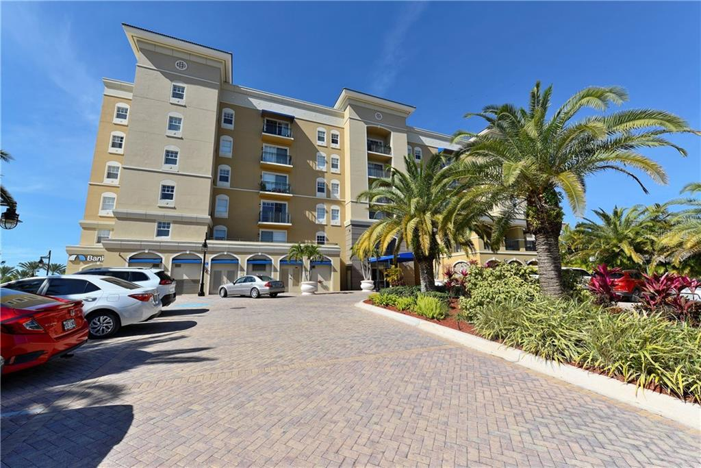 Guest parking with secured building - Condo for sale at 1064 N Tamiami Trl #1522, Sarasota, FL 34236 - MLS Number is A4479270