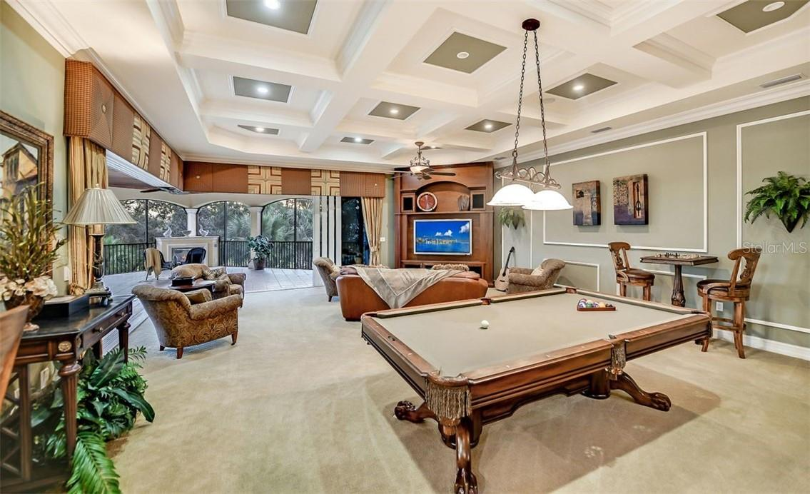 Billiards... Pool , tell me the difference? - Single Family Home for sale at 8263 Archers Ct, Sarasota, FL 34240 - MLS Number is A4483993