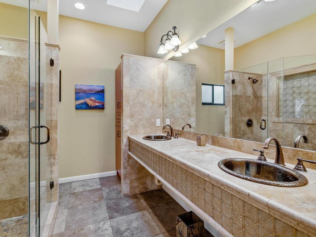 Master Bath - Condo for sale at 1348 Landings Dr #19, Sarasota, FL 34231 - MLS Number is A4485954
