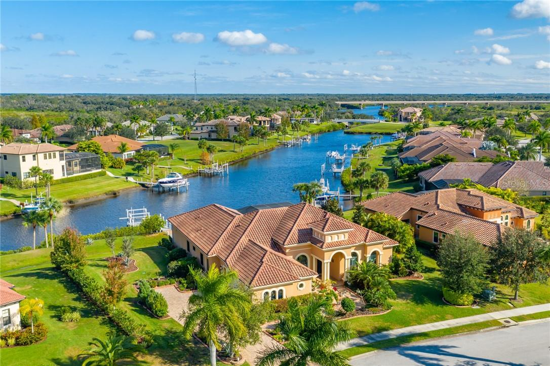This home is positioned perfectly on the canal, with great views of big water and a short boat ride under the bridge will put you in the Manatee River heading to your favorite fishing point or to the gulf. - Single Family Home for sale at 11720 Rive Isle Run, Parrish, FL 34219 - MLS Number is A4486302