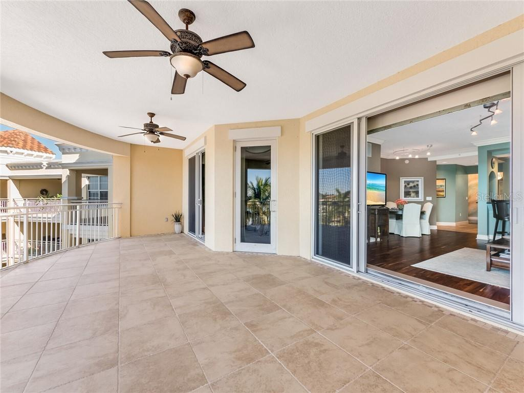 Enless opporunties for this outdoor living space overlooking Sarasota Bay. - Condo for sale at 14021 Bellagio Way #407, Osprey, FL 34229 - MLS Number is A4487552