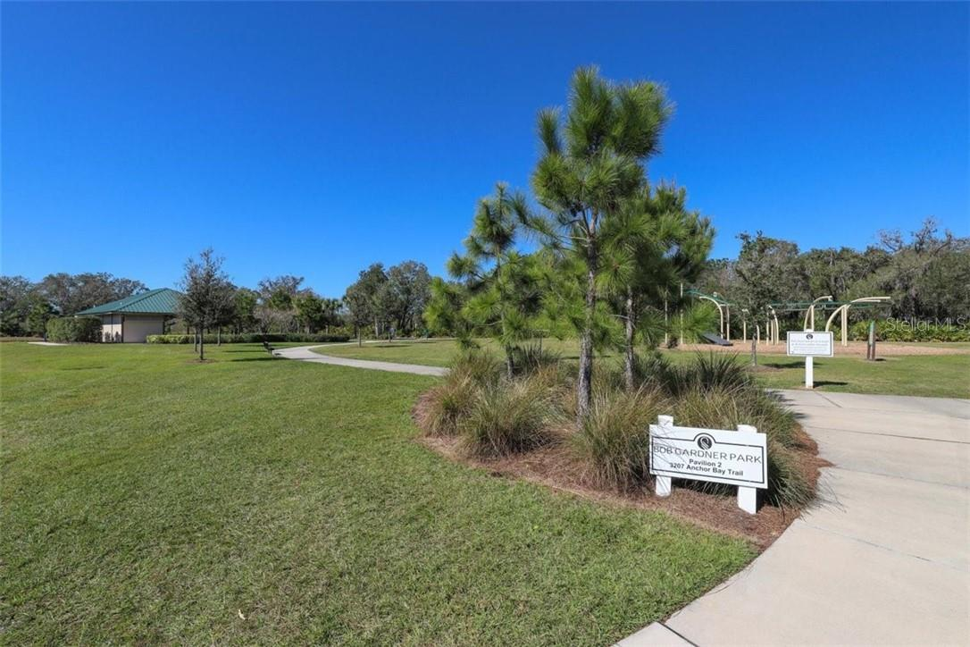 Walk to the park. - Single Family Home for sale at 11713 Blue Hill Trl, Bradenton, FL 34211 - MLS Number is A4490622