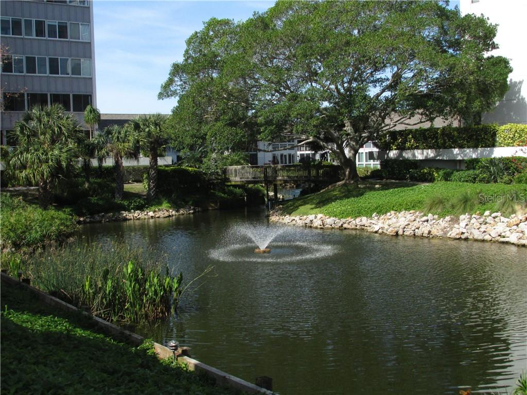 VIEW FROM THE LANAI - Condo for sale at 1087 W Peppertree Dr #221d, Sarasota, FL 34242 - MLS Number is A4493593
