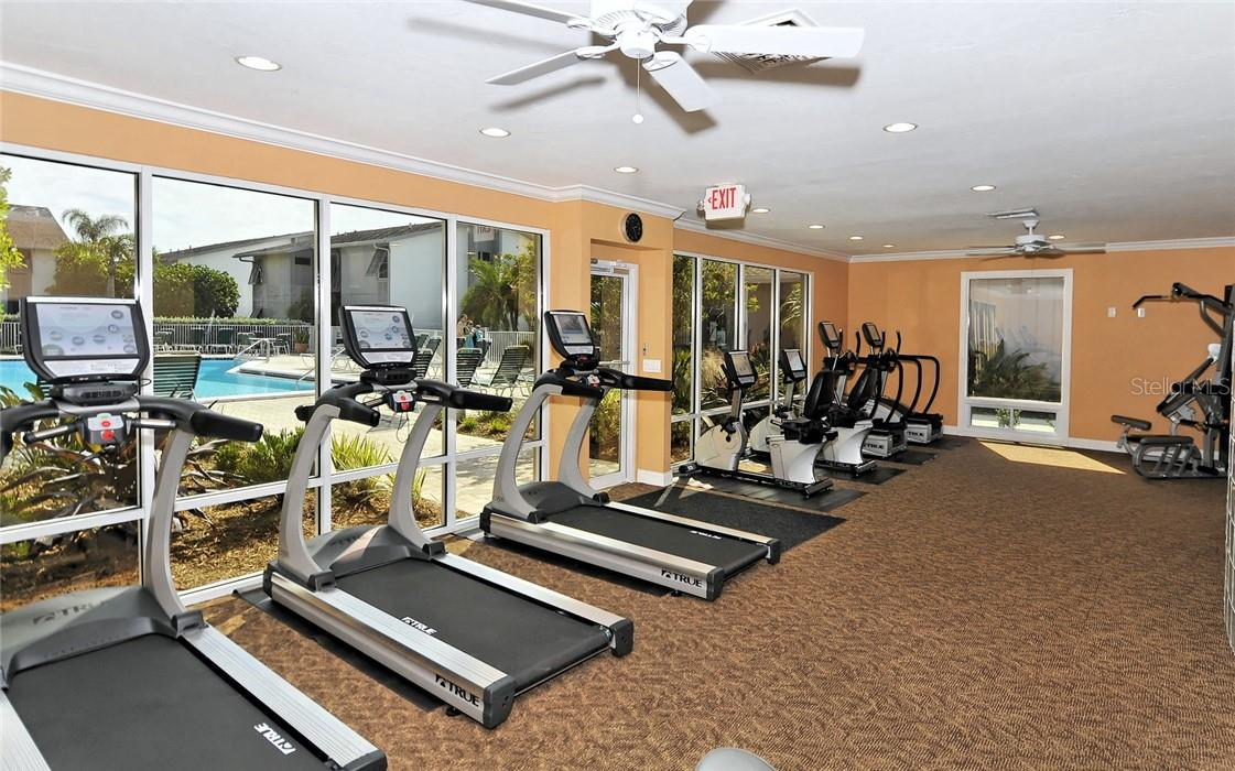 Fitness Center - Condo for sale at 1200 E Peppertree Ln #602, Sarasota, FL 34242 - MLS Number is A4495963
