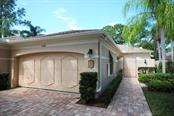 Paver brick driveway and walkway - Villa for sale at 5510 Chanteclaire #46, Sarasota, FL 34235 - MLS Number is A4156527