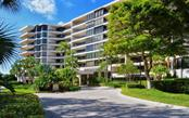 Building Front Exterior - Condo for sale at 535 Sanctuary Dr #c108, Longboat Key, FL 34228 - MLS Number is A4172623