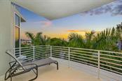 Master bedroom balcony - Condo for sale at 501 Beach Rd #b, Sarasota, FL 34242 - MLS Number is A4175979