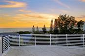 Gulf of Mexico view from roof top deck - Condo for sale at 501 Beach Rd #b, Sarasota, FL 34242 - MLS Number is A4175979