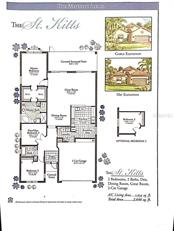 Floor Plan as provided by Builder.  The Laundry Room within the home has been customized so the above layout is not accurate. - Single Family Home for sale at 4226 65th Ter E, Sarasota, FL 34243 - MLS Number is A4180382