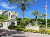 Private 24 hour manned gate - Condo for sale at 1800 Benjamin Franklin Dr #a202, Sarasota, FL 34236 - MLS Number is A4187131