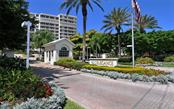 24/7 Guarded and gated entrance - Condo for sale at 1800 Benjamin Franklin Dr #b507, Sarasota, FL 34236 - MLS Number is A4188540