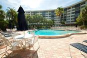 Community swimming pool - Condo for sale at 5855 Midnight Pass Rd #628, Sarasota, FL 34242 - MLS Number is A4190416