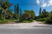 Just across street from your own deeded beach - Vacant Land for sale at 3220 Casey Key Rd, Nokomis, FL 34275 - MLS Number is A4197366