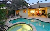 Heated Spa cascades into the pool - Single Family Home for sale at 1746 Hillview St, Sarasota, FL 34239 - MLS Number is A4202985