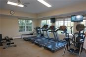 Community fitness room - Single Family Home for sale at 508 Marsh Creek Rd, Venice, FL 34292 - MLS Number is A4204933