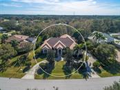 Front Aerial - Single Family Home for sale at 7715 Donald Ross Rd W, Sarasota, FL 34240 - MLS Number is A4208499