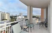 City Views From Terrace - Condo for sale at 1350 Main St #1106, Sarasota, FL 34236 - MLS Number is A4209424