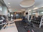 State of the art exercise room located on the amenities level. - Condo for sale at 1301 Main St #1001, Sarasota, FL 34236 - MLS Number is A4402790