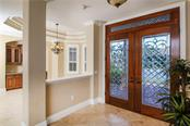 Entry Foyer - Single Family Home for sale at 432 Sorrento Dr, Osprey, FL 34229 - MLS Number is A4402898