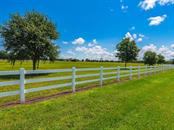 It sounds like a little thing but the white fences do set Sarasota Ranch Club apart when compared to other communities - Vacant Land for sale at Address Withheld, Sarasota, FL 34240 - MLS Number is A4408726