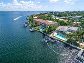 Rear aerial view - Single Family Home for sale at 425 Meadow Lark Dr, Sarasota, FL 34236 - MLS Number is A4415655