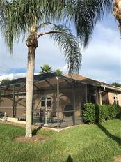 Back and side view of pool area. - Villa for sale at 252 Fairway Isles Ln, Bradenton, FL 34212 - MLS Number is A4417217