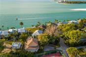Aerial. - Single Family Home for sale at 108 Sand Dollar Ln, Sarasota, FL 34242 - MLS Number is A4421218