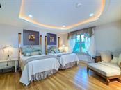 Guest Bedroom #1 - Stunning Hardwood Floors - Condo for sale at 2399 Gulf Of Mexico Dr #3c3, Longboat Key, FL 34228 - MLS Number is A4421722