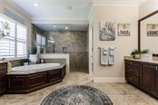 Master Bathroom - Single Family Home for sale at 20 Blake Way, Osprey, FL 34229 - MLS Number is A4423645